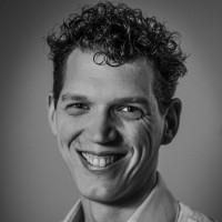 'Zwart-wit foto van Tim Janssen'